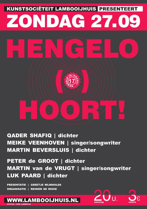 Hengelo (0) Hoort - 27/09/2009